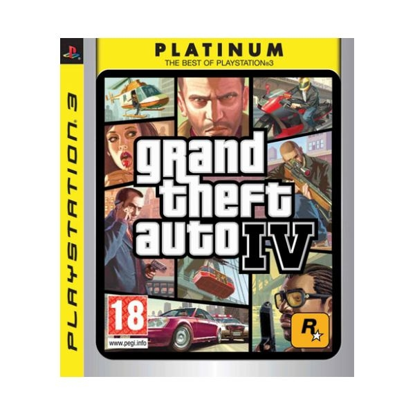 Grand Theft Auto IV (GTA 4) PS3 (használt) - PS3/PS Vita